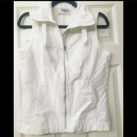 NWT Columbia Women's White vest